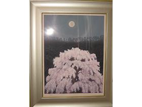 版画「桜」