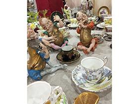 西洋陶人形・食器類